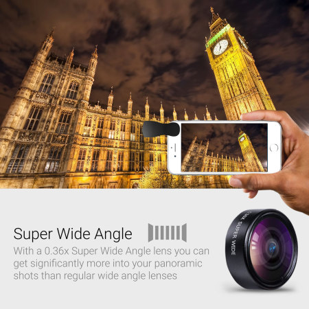 Olixar Premium HD Camera Lens Kit