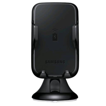 samsung galaxy s8 s8 plus wireless charging car holder black. Black Bedroom Furniture Sets. Home Design Ideas