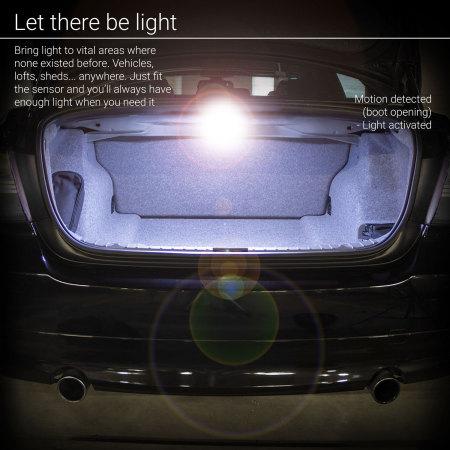 Lampe de nuit à LED AGL avec détecteur de mouvements – Pack de 4