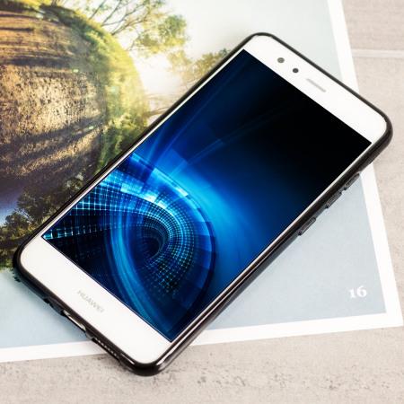 Olixar FlexiShield Huawei P10 Lite Gel Case - Solid Black