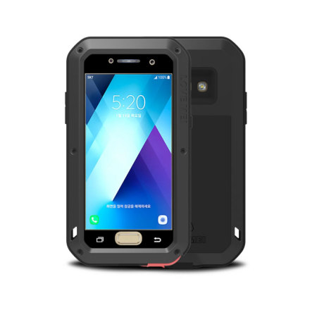 Love Mei Powerful Samsung Galaxy A3 2017 Protective Case - Black