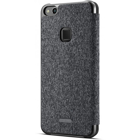 Official Huawei P10 Lite Smart View Flip Case - Dark Grey
