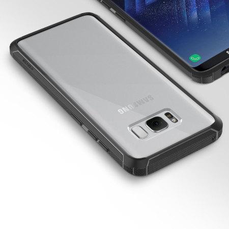 Obliq Naked Shield Samsung Galaxy S8 Case - Black