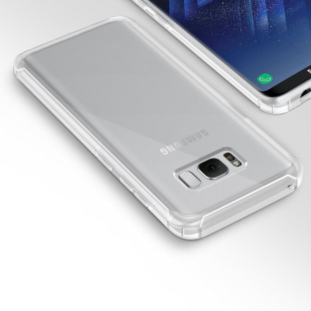 Obliq Naked Shield Samsung Galaxy S8 Plus Case - Frost Clear