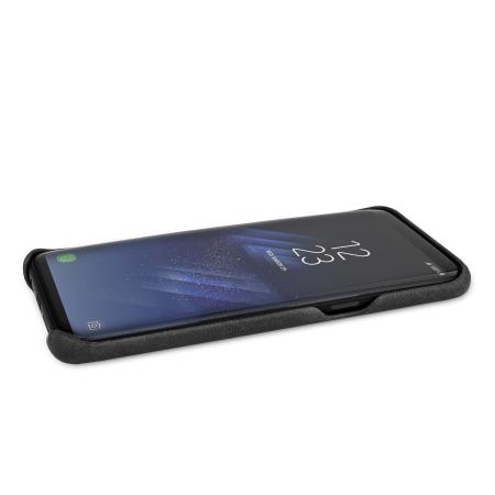 Enter and vaja grip samsung galaxy s8 plus premium leather case black travel
