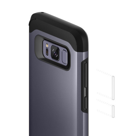 Caseology Legion Series Samsung Galaxy S8 Tough Case - Orchid Grey