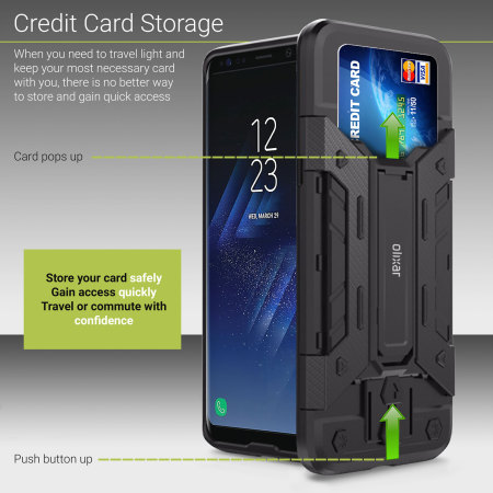 huge discount 6e061 be85f Olixar Extreme Protection Galaxy S8 Plus Case & Glass Screen Protector