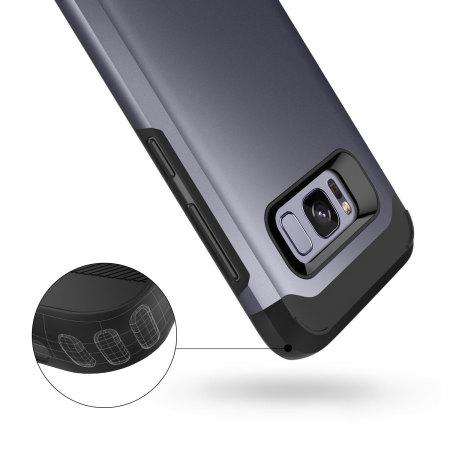 Caseology Legion Samsung Galaxy S8 Plus Tough Case - Orchid Grey