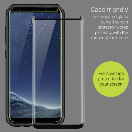 share Xiaomi olixar galaxy s8 plus case compatible glass screen protector clear clic