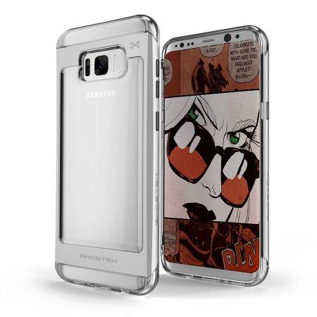 release date 9884c aad0c Ghostek Cloak 2 Samsung Galaxy S8 Plus Aluminium Case - Clear / Silver