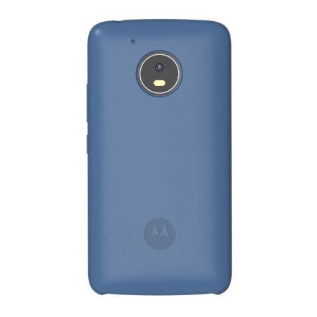 Official Motorola Moto G5 Silicone Cover - Blue