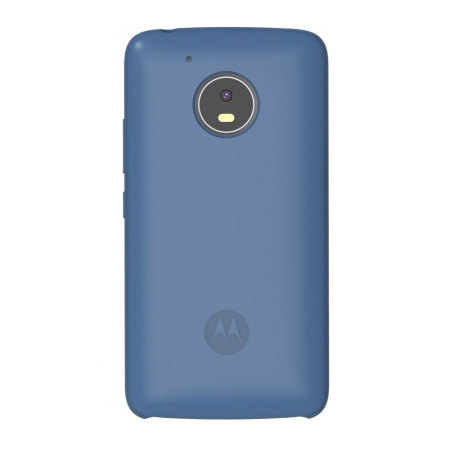new arrival 63ea5 af1f5 Official Motorola Moto G5 Plus Silicone Cover - Blue