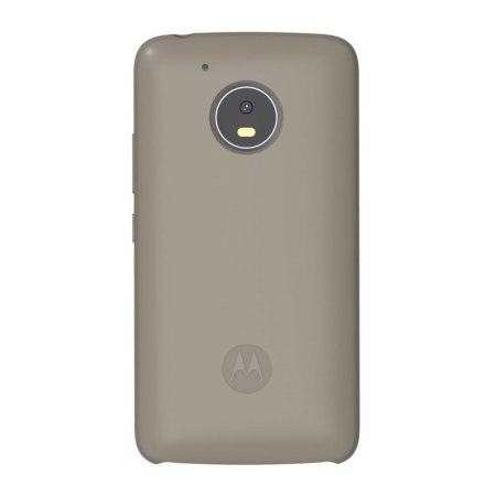 Official Motorola Moto G5 Plus Silicone Cover - Gunmetal