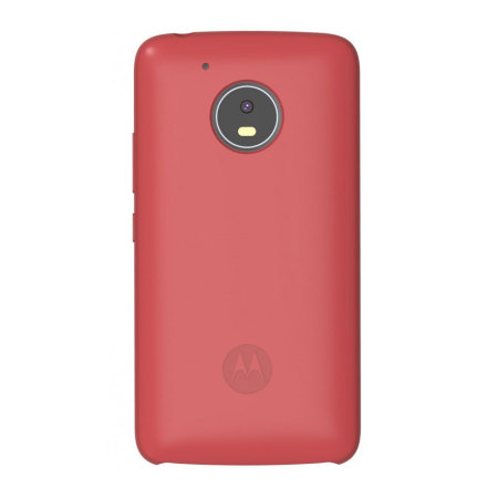 new product 3639c 7a632 Official Motorola Moto G5 Plus Silicone Cover Case - Red