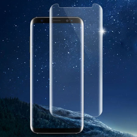 Whitestone Dome Glass Samsung Galaxy S8 Full Cover Screen Protector