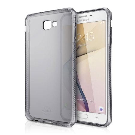 timeless design faa8f 92ae3 ITSKINS Spectrum Samsung Galaxy J7 Prime Gel Case - Smoke Black