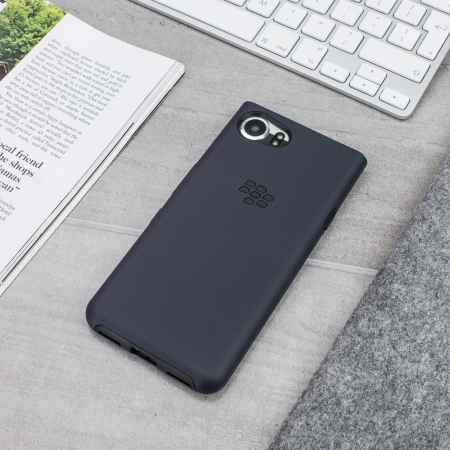official blackberry keyone dual layer hard shell case black. Black Bedroom Furniture Sets. Home Design Ideas