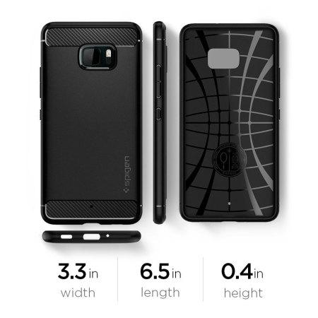 the latest 80913 c0b5b Spigen Rugged Armor HTC U Ultra Tough Case - Black