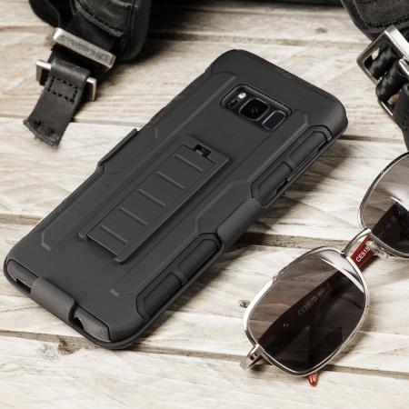 Olixar Clipper Belt Clip Samsung Galaxy S8 Plus Case - Black