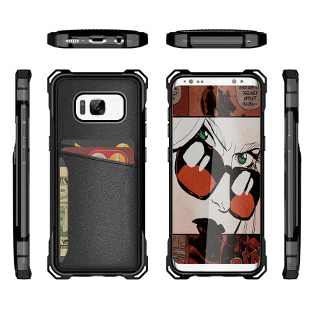 Ghostek Exec Series Samsung Galaxy S8 Wallet Case - Black