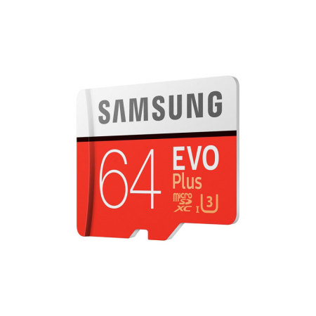 Samsung 64GB MicroSDXC EVO Plus Memory Card w/ SD Adapter - Class 10