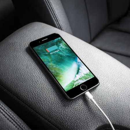 Devia IPhone and iPad Dual USB MFi Lightning Car Charger - 2.1A