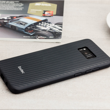 Evutec AER Karbon Samsung Galaxy S8 Tough Case - Black
