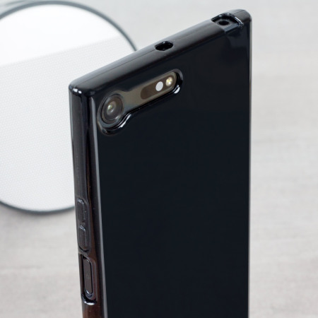detailed look 05ecd b2cef Olixar FlexiShield Sony Xperia XZ Premium Gel Case - Black