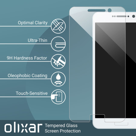 Protection d'écran en Verre Trempé Sony Xperia XZ Premium Olixar