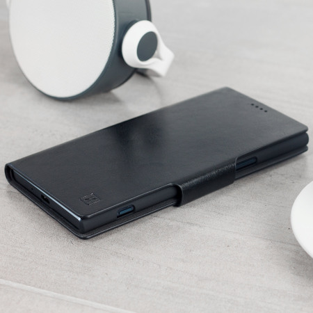 Olixar Sony Xperia XZ Premium WalletCase Tasche in Schwarz