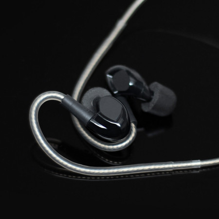 ADVANCED SOUND Model 3 Hi-resolution Wireless In-ear Monitors - Black