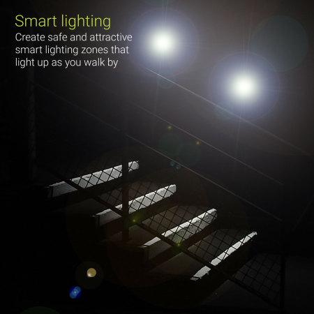 AGL Wireless LED PIR Motion Sensor Handy Lamp - Black 2 pack