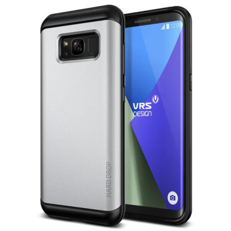VRS Design Thor Series Samsung Galaxy S8 Plus Case - Satin Silver