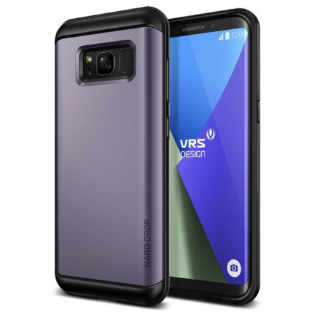 VRS Design Thor Series Samsung Galaxy S8 Plus Case - Orchid Grey