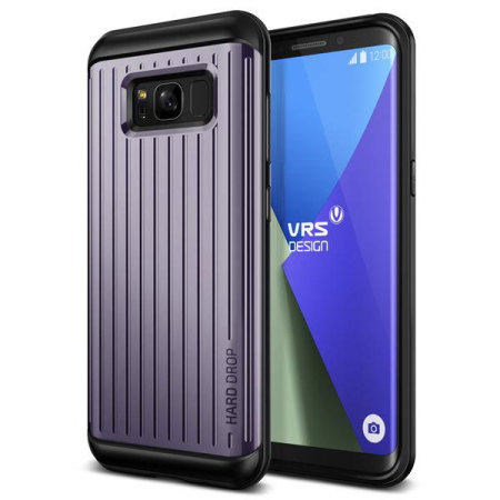 VRS Design Thor Waved Series Samsung Galaxy S8 Plus Case - Orchid Grey