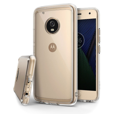 Rearth Ringke Fusion Motorola Moto G5 Plus Case - Clear
