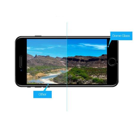 Whitestone dome glass iphone 7 full cover screen protector
