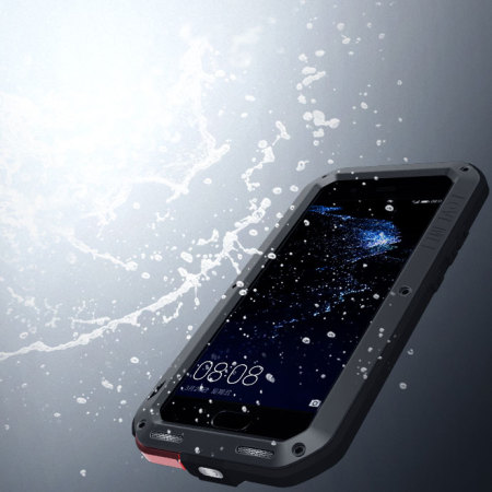 Love Mei Powerful Huawei P10 Plus Protective Deksel - Sort