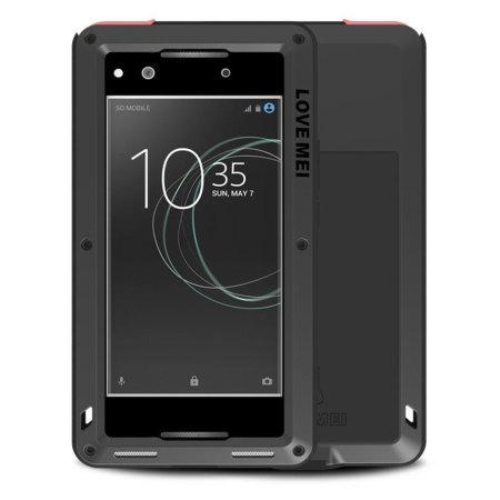 Love Mei Powerful Sony Xperia XA1 Ultra Protective Case - Black