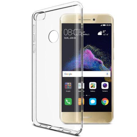 Olixar Ultra-Thin Huawei P8 Lite 2017 Gel Case - 100% Clear