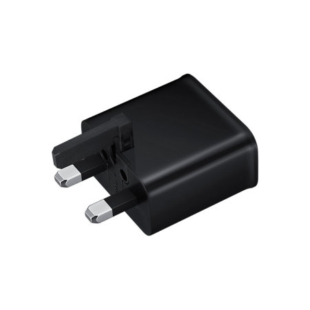 Official Samsung 2A UK Mains Charger & Micro USB Cable - Black
