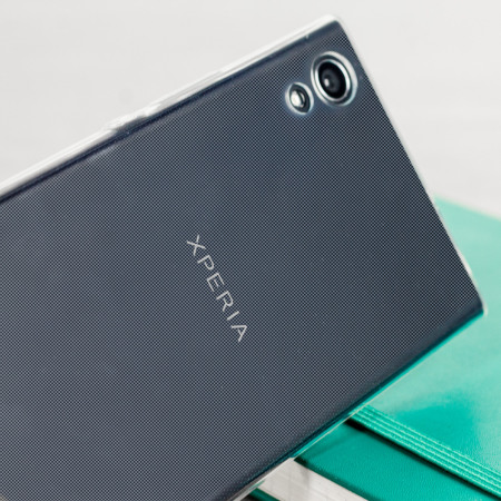 Olixar Ultra-Thin Sony Xperia XA1 Gel Hülle in 100% Klar
