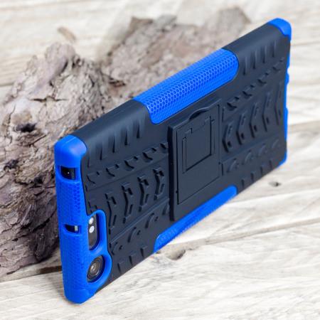 Olixar ArmourDillo Sony Xperia XZ Premium Protective Case - Blue