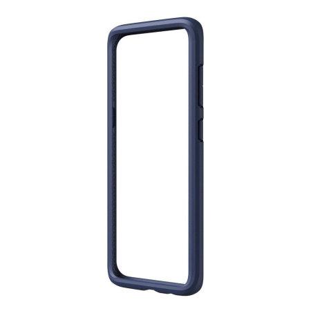 RhinoShield CrashGuard Samsung Galaxy S8 Plus Bumper Case - Dark Blue