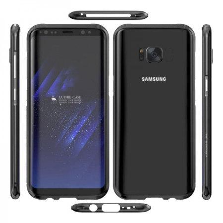 more photos df4b5 9210d Luphie Blade Sword Samsung Galaxy S8 Aluminium Bumper Case - Black