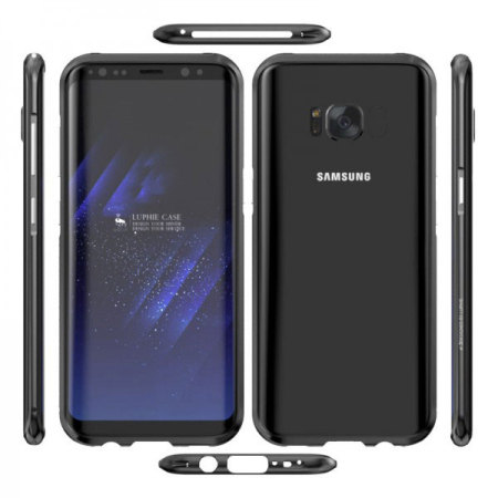 Luphie Blade Sword Samsung Galaxy S8 Plus Bumper Case - Black