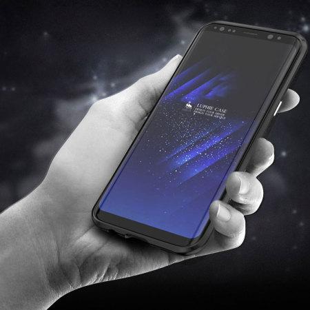 Luphie Blade Sword Samsung Galaxy S8 Plus Bumper Case - Black
