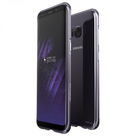 Luphie Blade Sword Samsung Galaxy S8 Plus Bumper Case - Orchid Grey