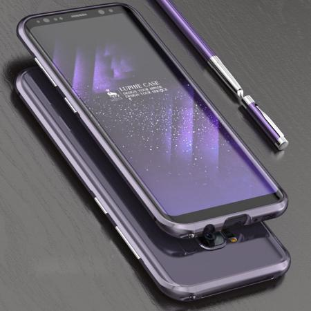 buy popular 0370a 81470 Luphie Blade Sword Samsung Galaxy S8 Plus Bumper Case - Orchid Grey