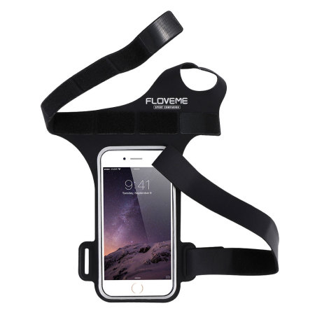 "Floveme Universal Sports Armband for Smartphones up to 5.5"" - Black"